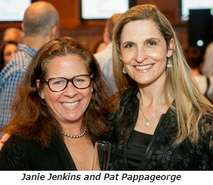 Janie Jenkins (left) with Pat Pappageorge (of Wilmette)