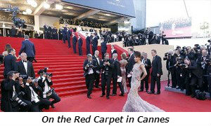 On the Red Carpet at Cannes