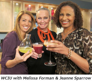 WCIU with Melissa Forman and Jeanne Sparrow 10-30-12