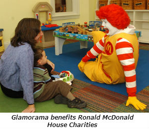Glamorama benefits Ronald McDonald House Charities