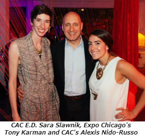 CAC ED Sara Slawnik Expo Chicagos Tony Karman and CACs Alexis Nido-Russo