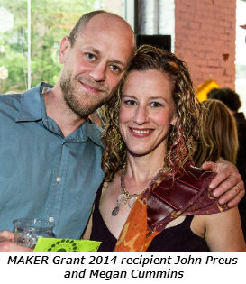 MAKER Grant 2014 recipient John Preus and Megan Cummins