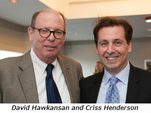 David Hawkansan and Criss Henderson
