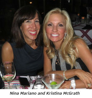 Nina Mariano and Kristina McGrath