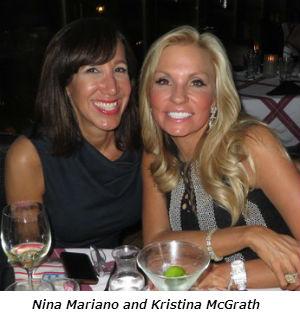 Nina Mariano and Kristina McGrath