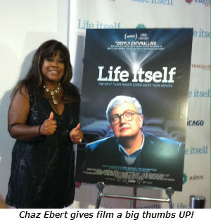 Chaz Ebert gives film a big thumbs UP