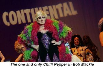 Chilli Pepper entertains at Miss Continental 2013