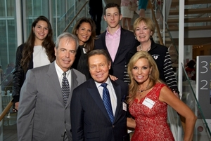 Honorary co-chairs Charlie and Rebecca Besser and Elena and Brennan with Kristina and Mike McGrath and Peg Lombardo