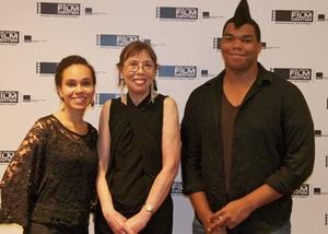 Filmmaker Cy Weisman and Barbara Scharres and filmmaker Josh MacNeal