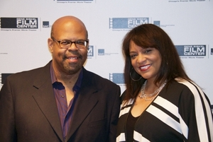 Sergio Mims, Black Harvest Fest Consultant, and Eleva Singleton