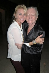 Debra Jensen (Miss Jan. 1978) and Hef