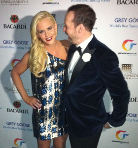Jenny McCarthy and Donnie Wahlberg in Dec. 2013
