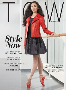 Victoria Jaiani on cover of TCW Magazine