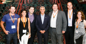 Mayor Emanuel with TOTN co-chairs