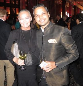 With luxury travel blogger Riaan George