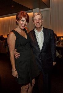 Kathleen Henson and Rich Melman