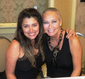 With Devin Devasquez (Miss June 1985)
