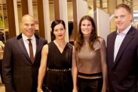 Co-Hosts Sean Berkowitz, Bethany McLean, Caroline and Keating Crown