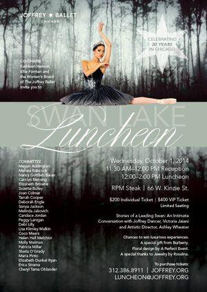 Swan Lake Invite