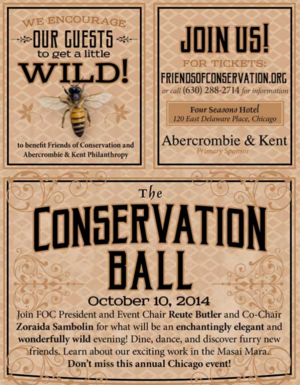 Conservation Ball