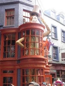 Weasleys' Wizard Wheezes candy shop