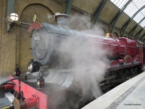 Hogwarts Express on Track 9 3/4