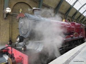 Hogwarts Express on Track 9 3/4