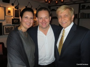 Nicki Pecori, James Lohan and Alderman Bob Fioretti