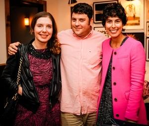 Emma Arnold, Scott Drasler and Jessica Moazami