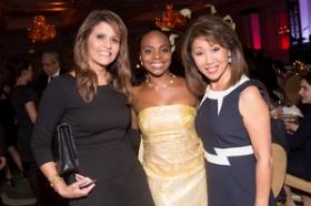 Sylvia Perez, Rochelle Trotter, Linda Yu