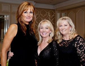 Gale Gottlieb, Gayle Anthony and Michaela Parrillo