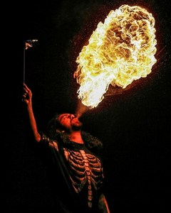 Flame Blower