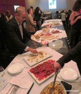 Lavish buffet at Tocco