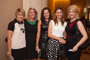 Jennifer Mesterharm, Kim Cornell, Natalie Slotnick, Kristin Parker and Sheilah Burnham