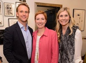 Joe Shenton, Sharon Schneider and Marie Tillman