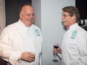 Chefs Tony Montuano and Rick Bayless