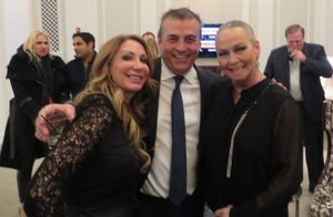 With Caffeinated Club founder Rocky Mosele and Leah Chavie