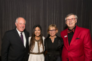 Pat Quinn, Josephine Lee (Pres/Artistic Dir. CCC), Amy Rule and Bob Fealy