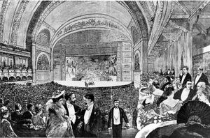 19th century Theatre image