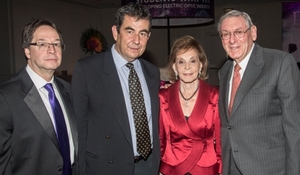 Lee Brown, Ari Shavit, Renee and Lester Crown