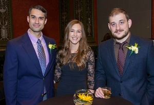 Eric Muller, Paige Kozyra and Ed Flynn