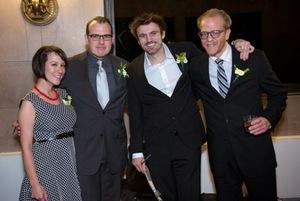 Maggie and John Gawlik, Andrew Hinderaker and Gabriel Franken
