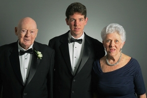 Honorees Edmund, Joe and Bernadette Boyle