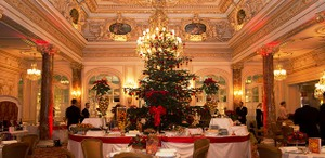 Hotel Hermitage holiday decor