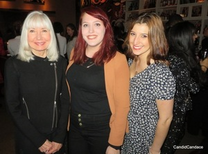 Sherren with Claire Keating and Chelsea Vaccaro.