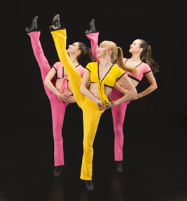 Thodos Dance Company doing a Bob Fosse inspired number. (Photo by Cheryl Mann)