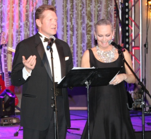 Co-emceeing with Alan Krashesky
