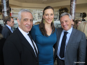Jacques and Marit Bohbot and Alberto Milani