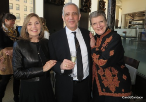 Martha Melman, Jacques Bohbot and Nena Ivon.