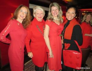 Eileen-Howard Weinberg, Peggy Martay, Cathy Bell Bartholomay, Rebecca Besser